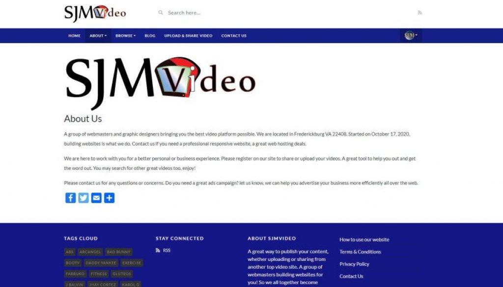 Video Websites Sharing