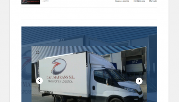 Dajumatrans.es Logistica Valencia Spain