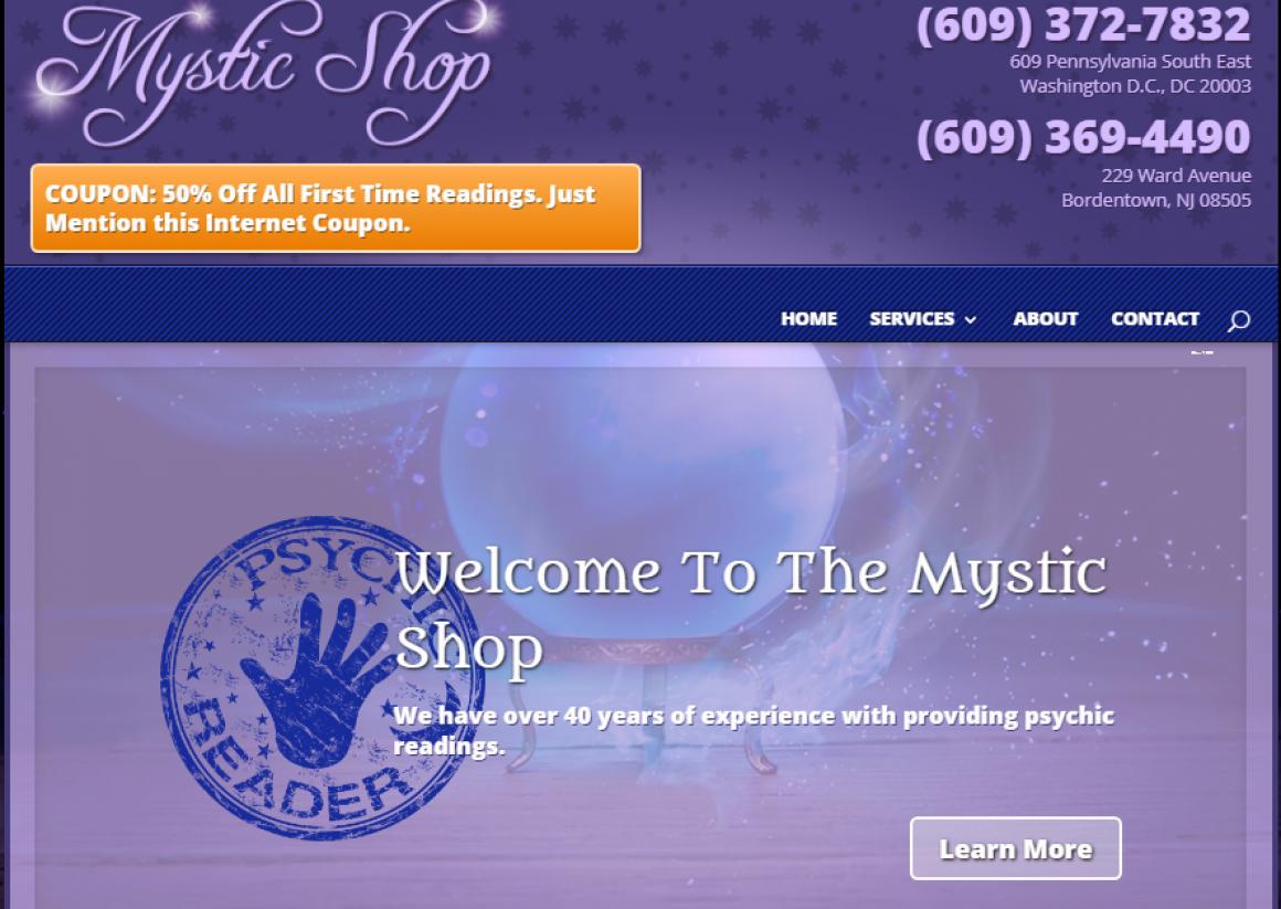 mysticshopdc.com