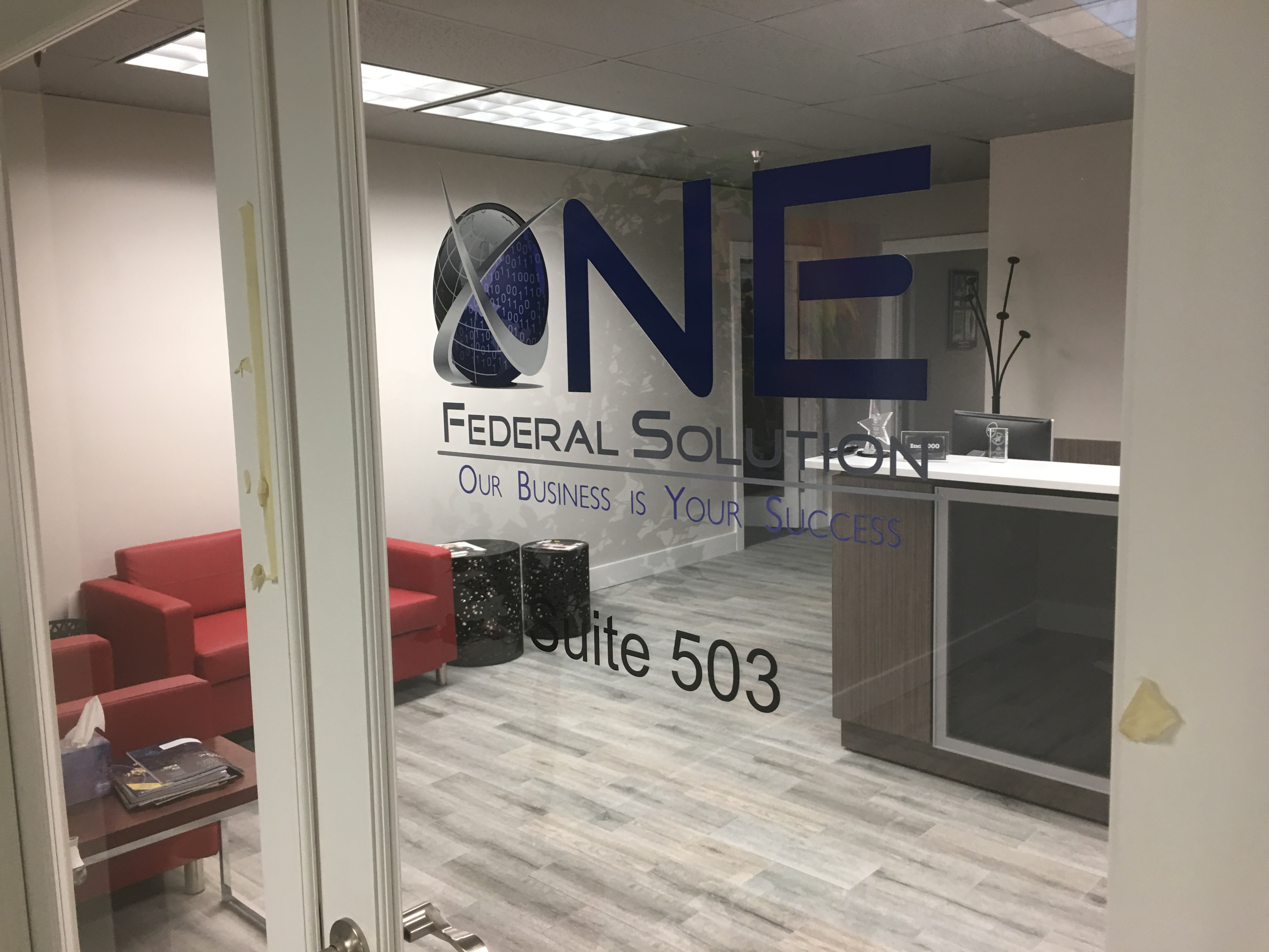 Glass Door Logos