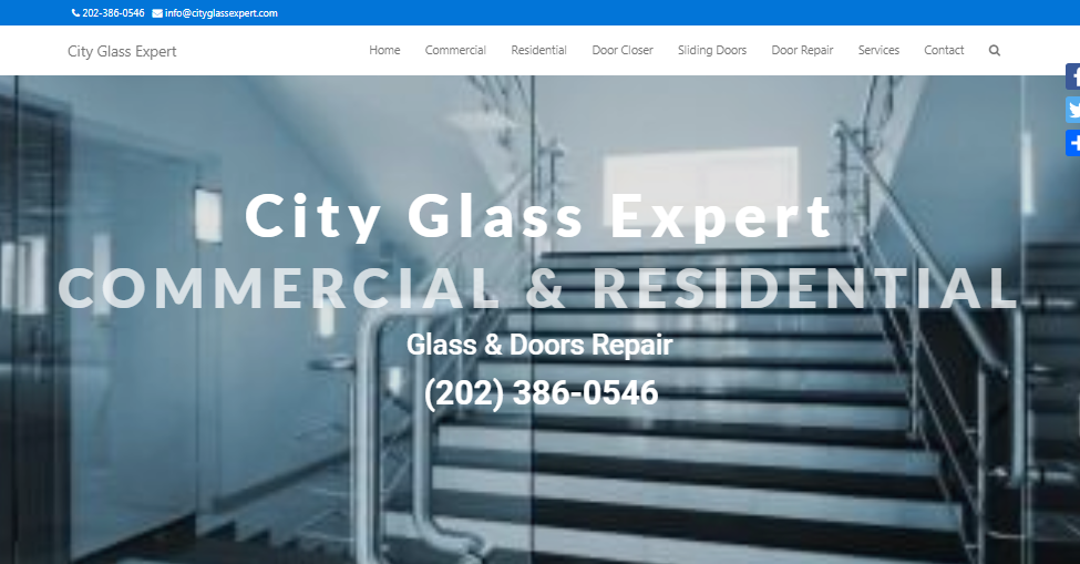 Glass Door Window Company VA DC MD