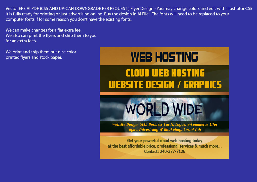 FLYER-DESIGN-WEBHOSTING