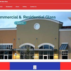 Glass Company Website Sale