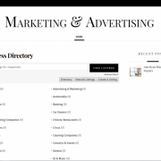 Ads Listing directory