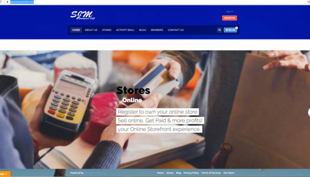 Online Stores SJM