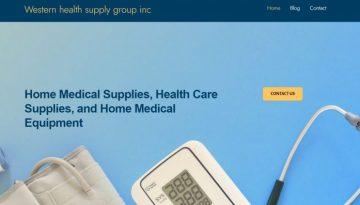 western health supply group inc