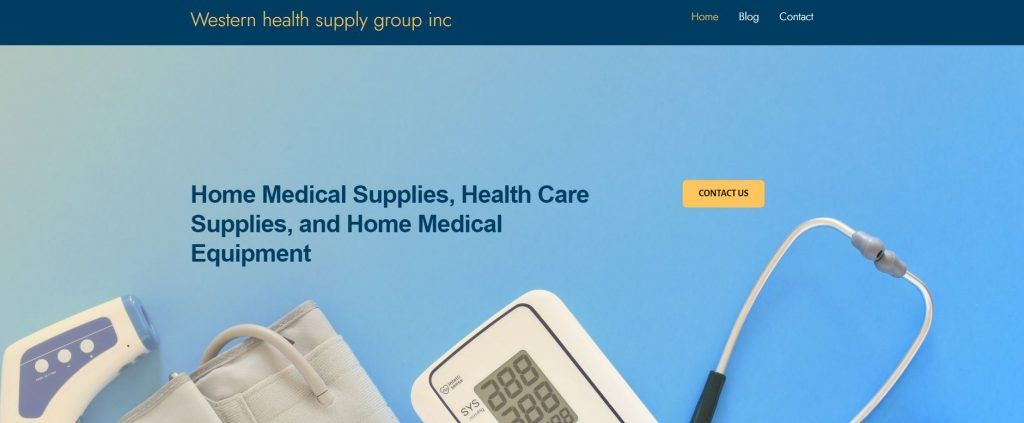 western health supply group inc