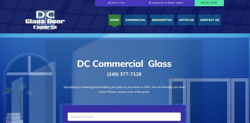 dc glass door experts